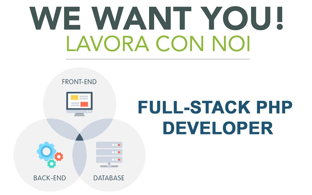 Cerchiamo un Full-Stack Php Developer