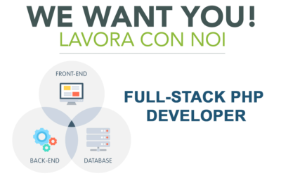 Cerchiamo un Full-Stack Php Developer