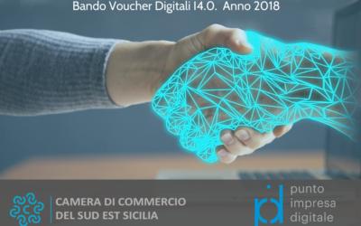 Bando Voucher Digitali I 4.0. Anno 2018. Approvazione graduatorie