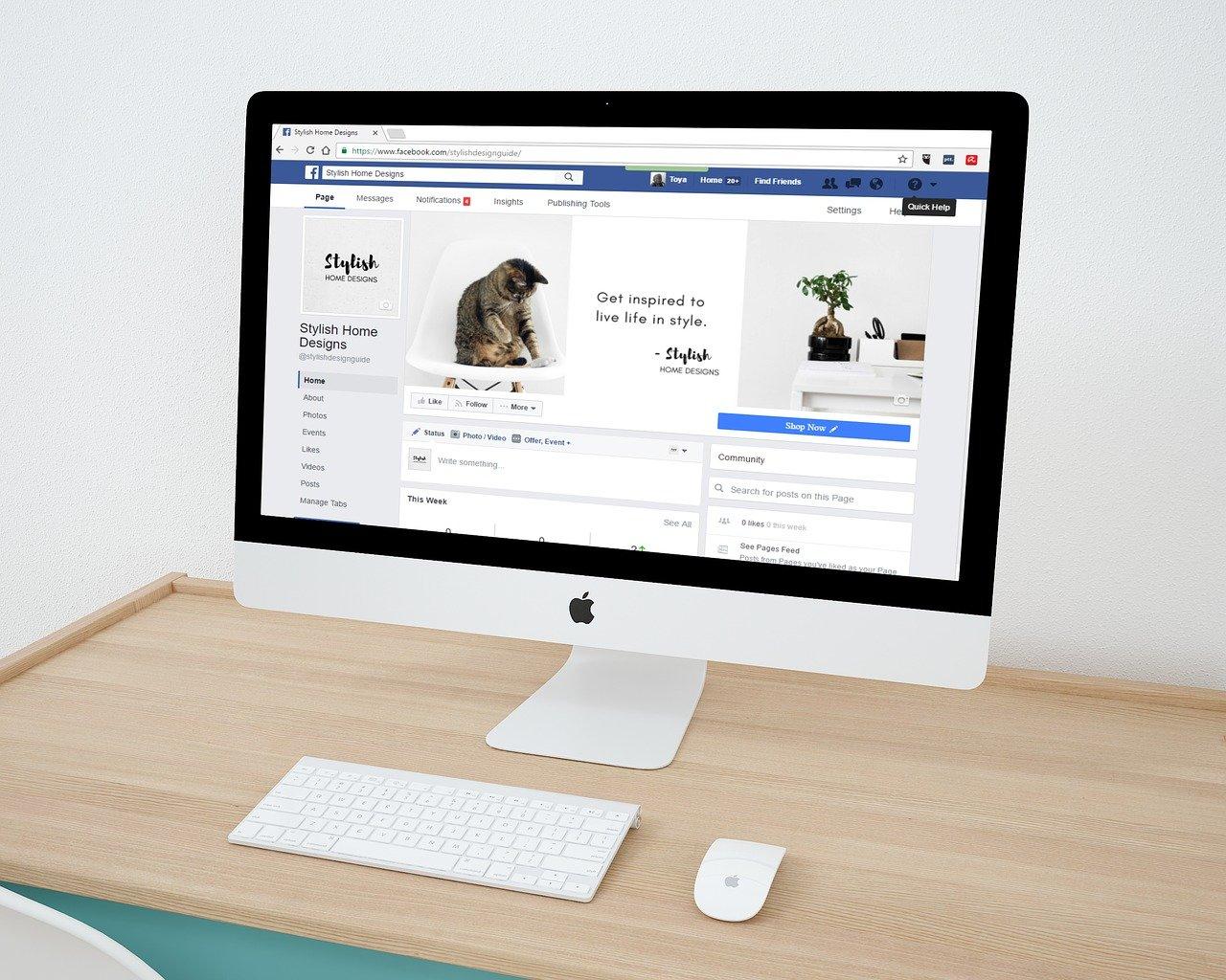 web design, facebook, facebook page